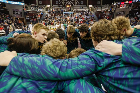 Springfield Catholic took on McEachern at the Bass Pro Shops Tournament of Champions at JQH Arena on Thursday, Jan. 17, 2019.