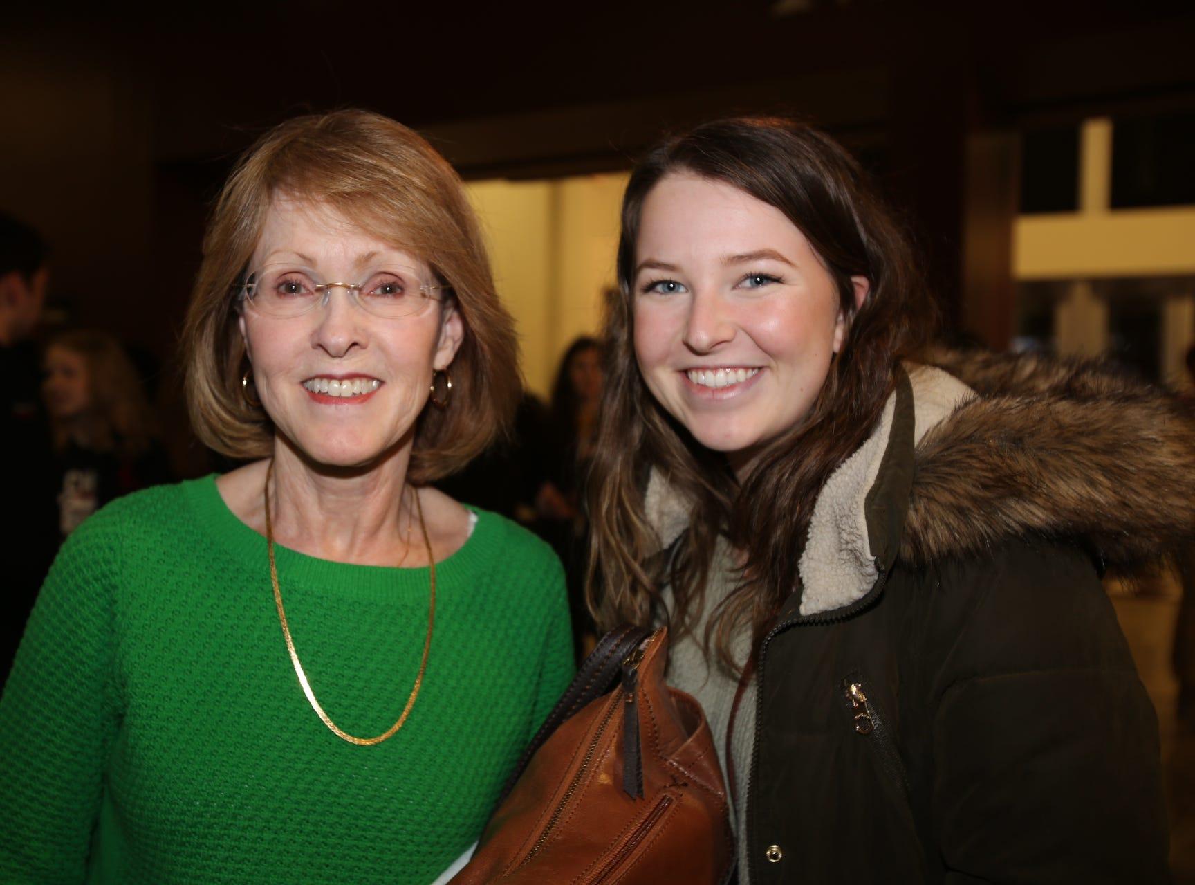 Janet Adams and Anna Rader