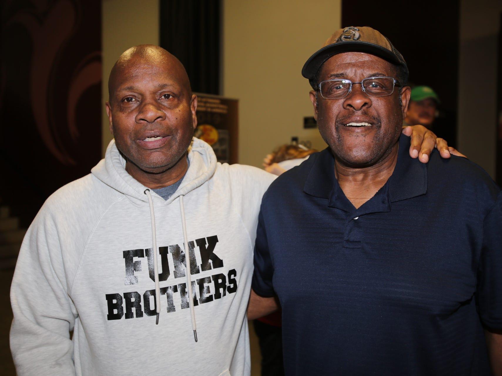 Ron Jarrett and Garland Adams