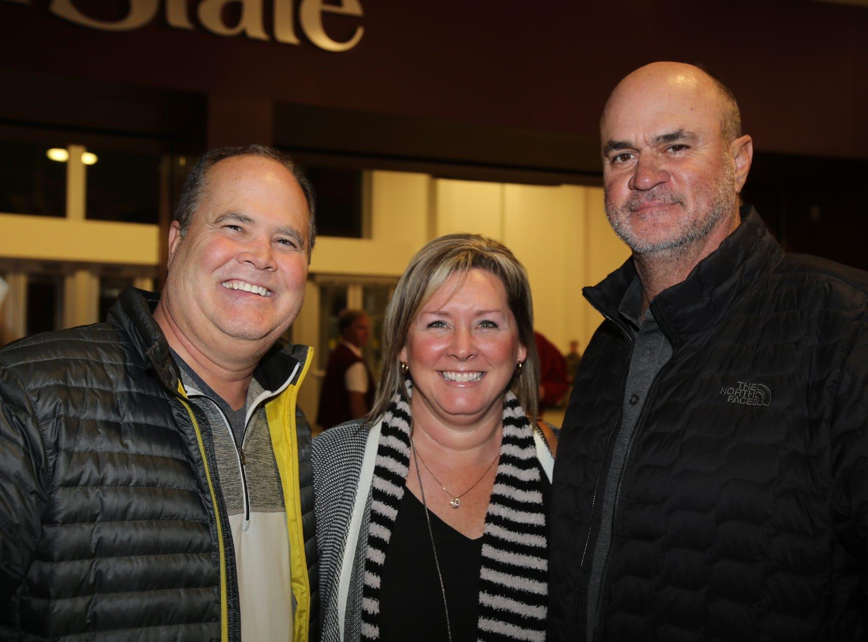 Brad Quinn, Christie and Tim Blasi