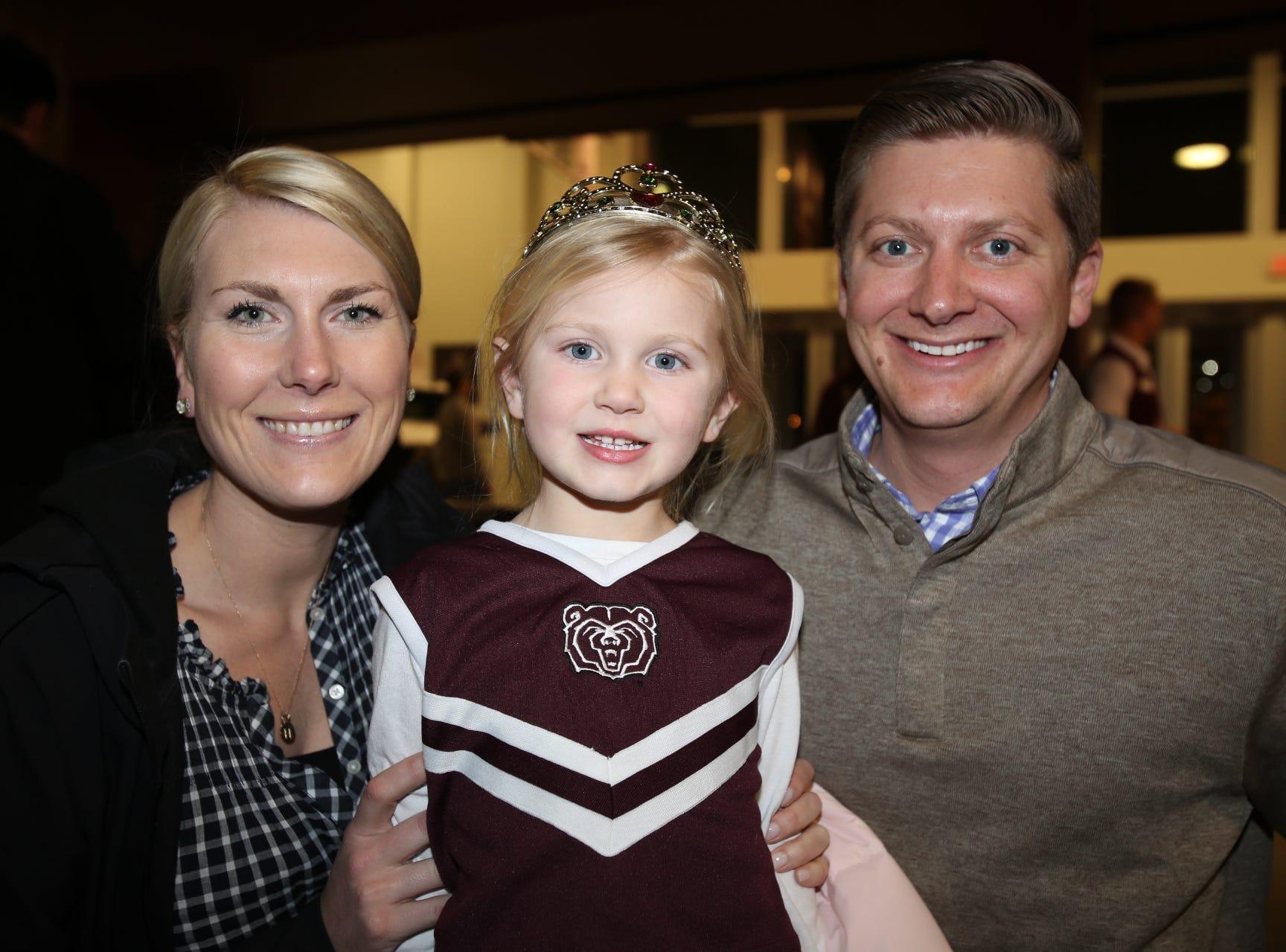 Lauren, Helen, and Stuart Lipscomb