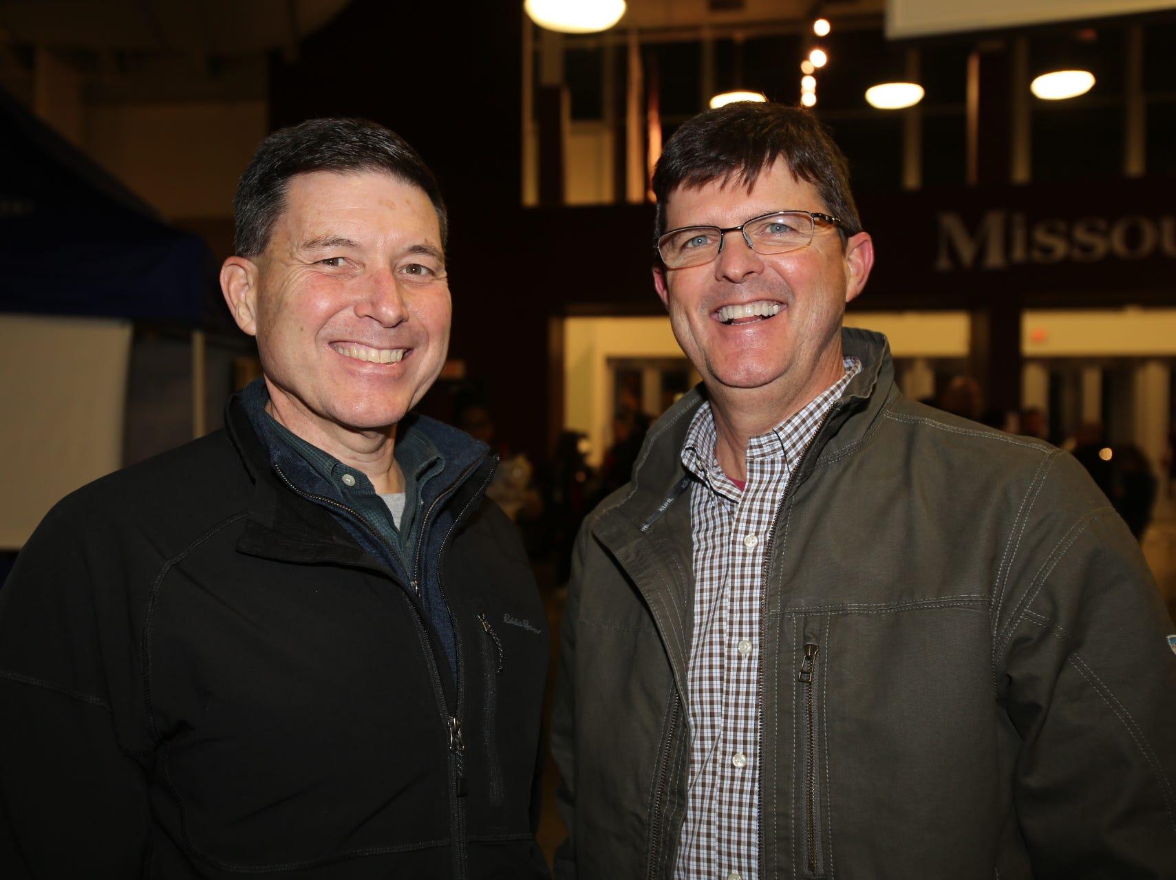 Tim Reese and Derek Slinker