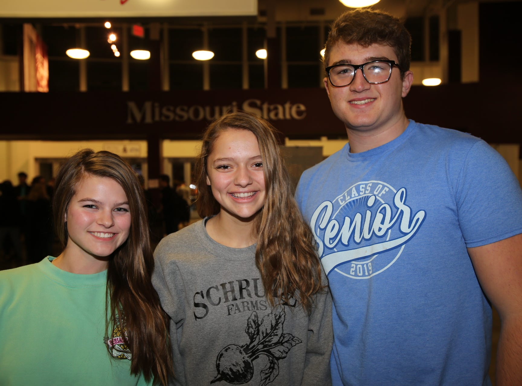 Bella Miller, Bri Mumm, and Cy Warlick