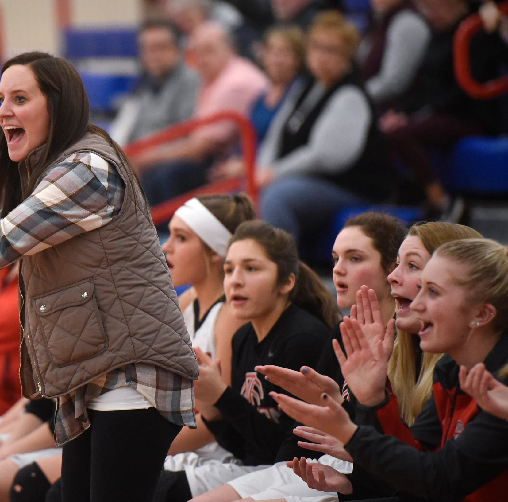 New ROCORI coach Valerie Fraley is enjoying the ride