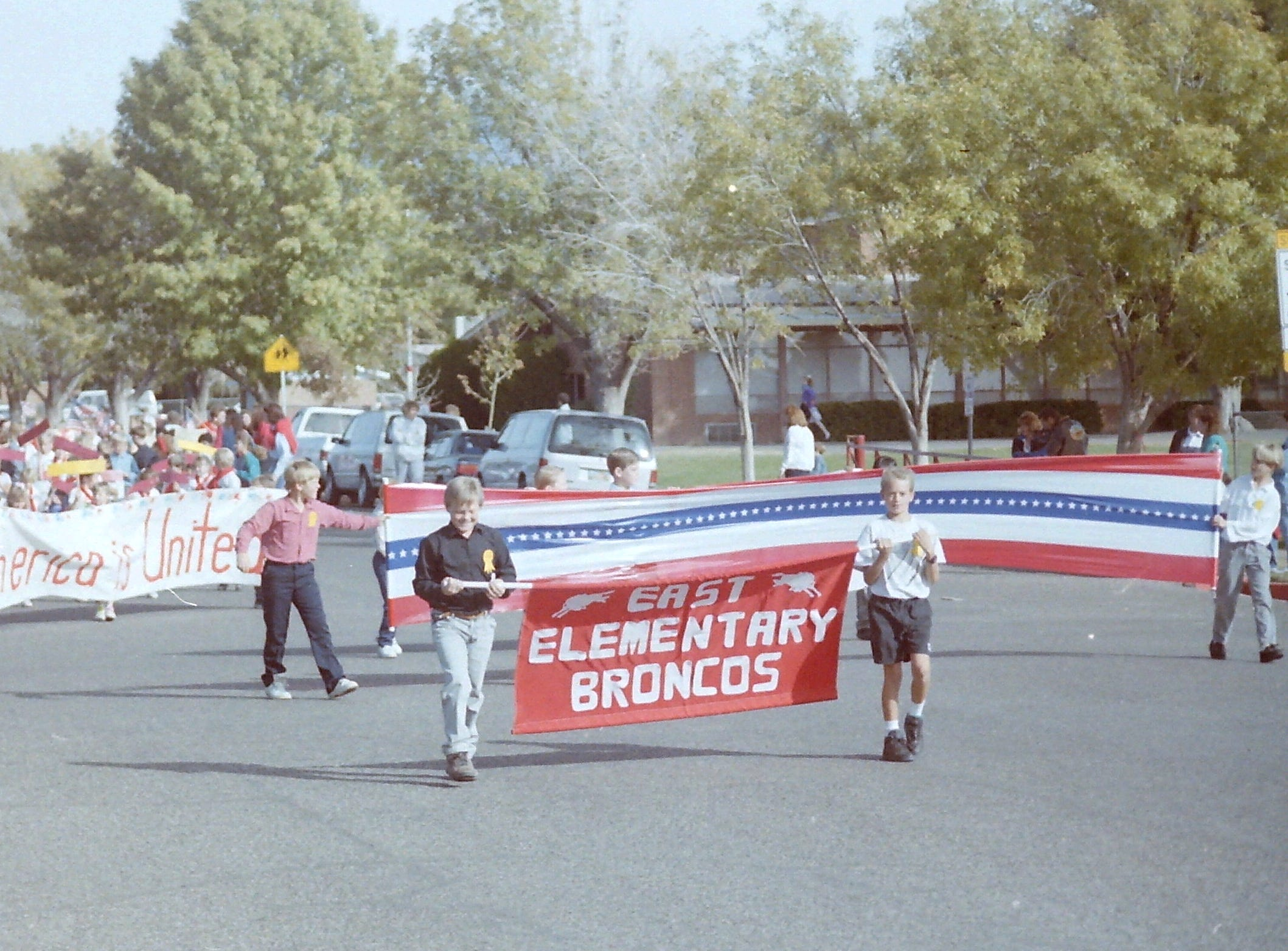 East Elementary Freedom March