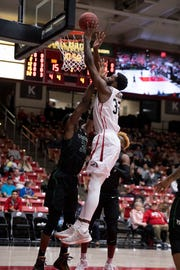 Andre Adams tied a career high with 23 points, leading SUU to a 94-80 win over Idaho State on Wednesday.