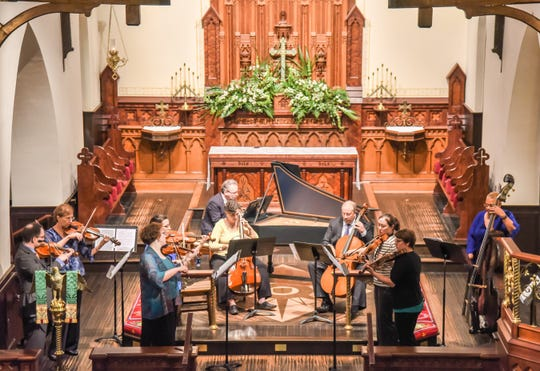 "The Bach Parley will present its ""Springtime Journal"" concert  on Sunday, Jan. 27"