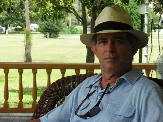 John Davis is the cover artist for LeMoyne's 2019 Chain of Parks Arts Festival.