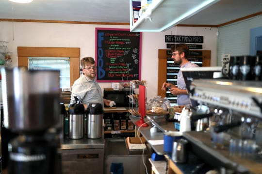 The owner of the Black Dog Cafe is concerned that construction of a hotel at Railroad Square could hurt business over the next two years.