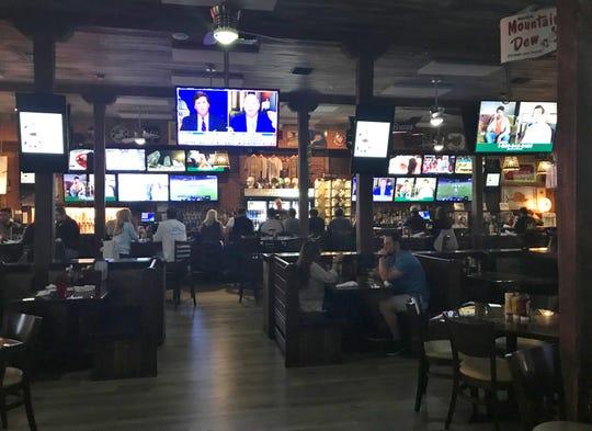 2nd Street Bistro is a huge bustling open restaurant.