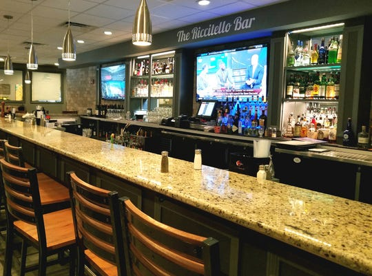 The Riccitello bar was named for and dedicated to longtime Manero's bar manager, the late Michael Riccitello.