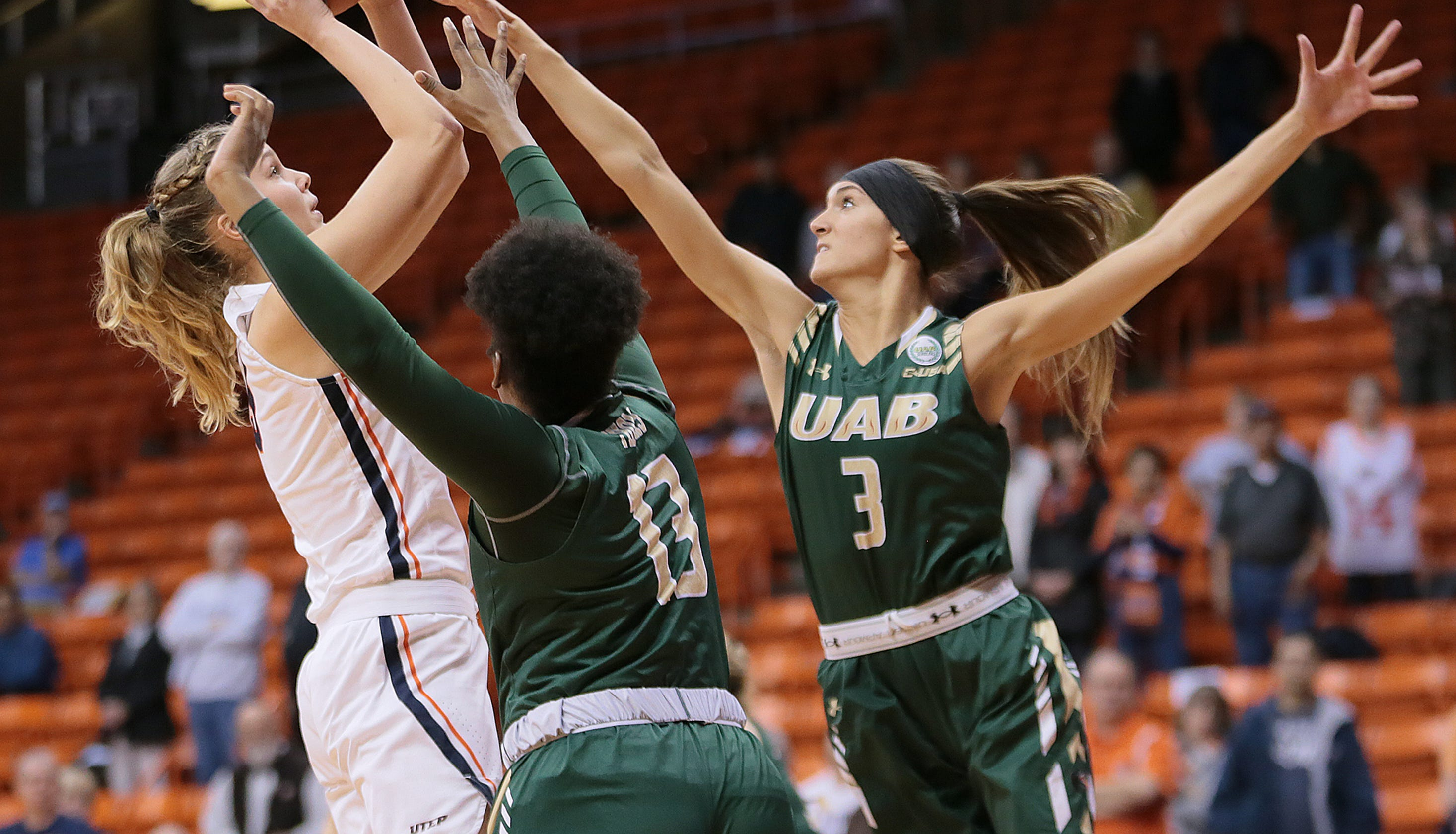 UTEP Women's Basketball Falls to UAB 74-48