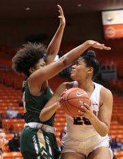 The UTEP Women's Basketball team played a tough UAB team fresh off a win over Tennessee. UAB pulled away in the second quarter and won 74-48.