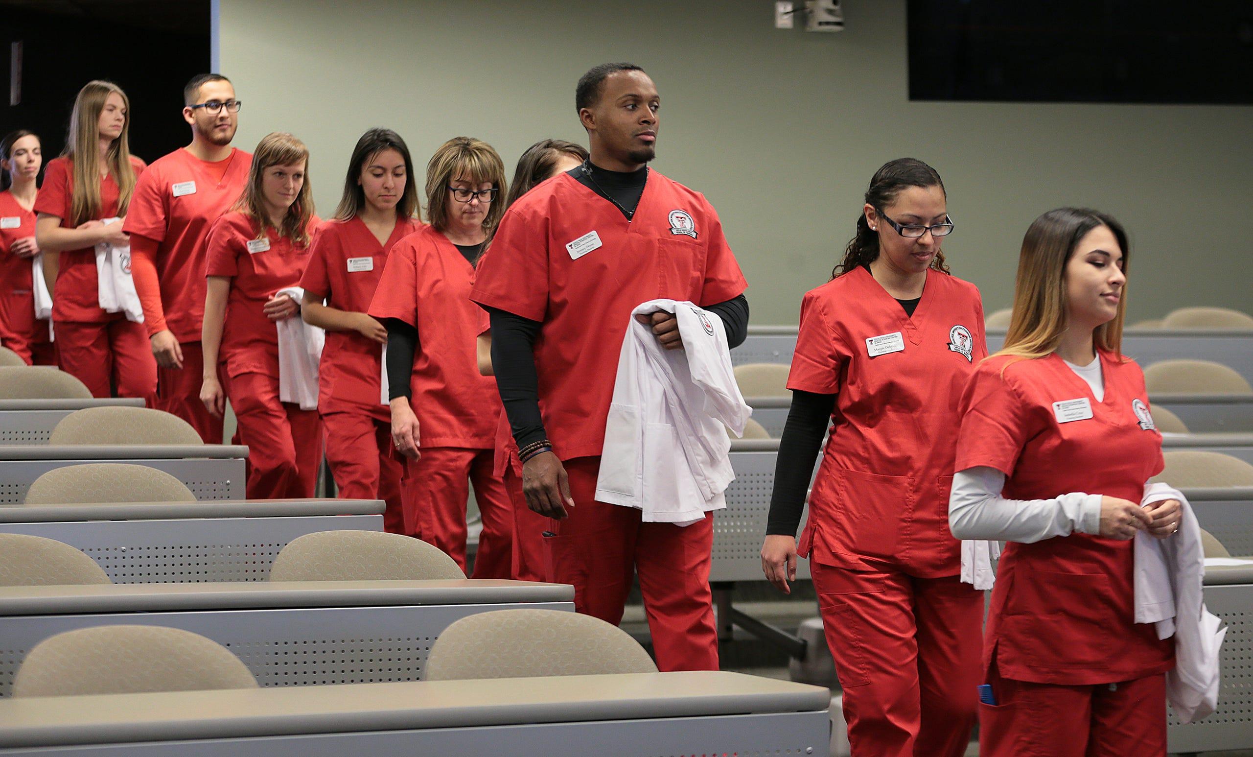 El Paso Nursing School Holds First Ever White Coat Ceremony