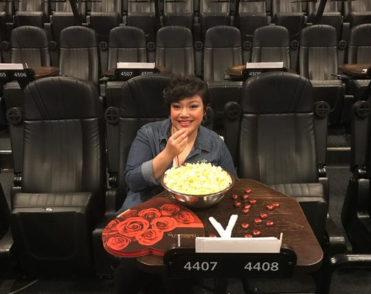 Analiza Guzman of the Alamo Drafthouse is excited about February's romance-themed movie parties.