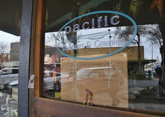 Pacific Treasure & Gourmet is just one of several businesses damaged in a downtown Visalia fire.