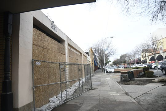 Cafe 225 is just one of several businesses damaged in a downtown Visalia fire.