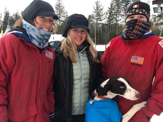 Jayme Dittmar, Jenna Dittmar and close family friend Rachel Colbath competed in sled dog races recently in Quebec, Canada.
