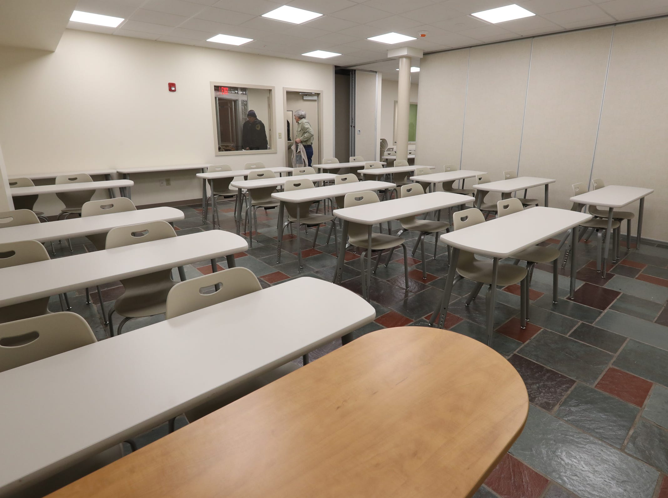 A large classroom at Rockland Community College's Hospitality and Culinary Arts Center in Nyack on Thursday, January 17, 2019.
