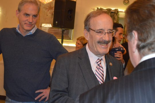 US Rep Eliot Engel, D-Bronx, had his Congressional overseas trip cancelled by President Trump.