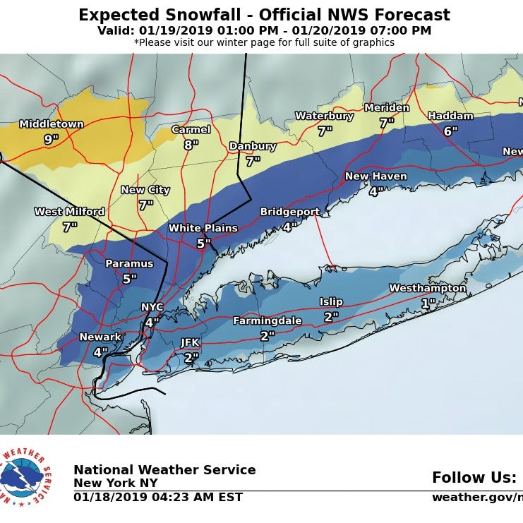 FAQ about this weekend's snow storm