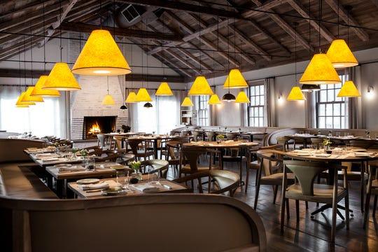 Main dining room at The Inn at Pound Ridge by Jean-Georges Vongerichten.
