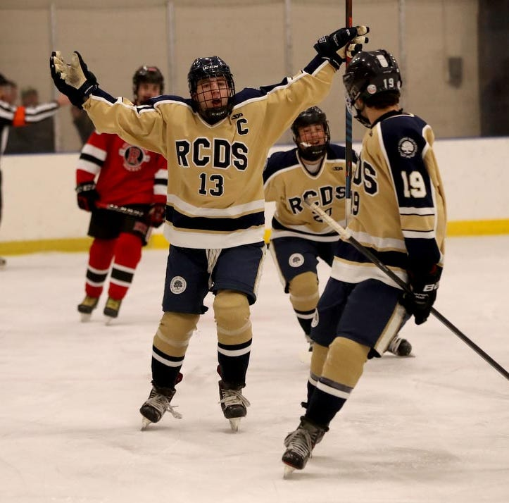 Hockey: Josh Cohen and Jack Kissell lead the charge for RCDS in a 6-3 win over Rye