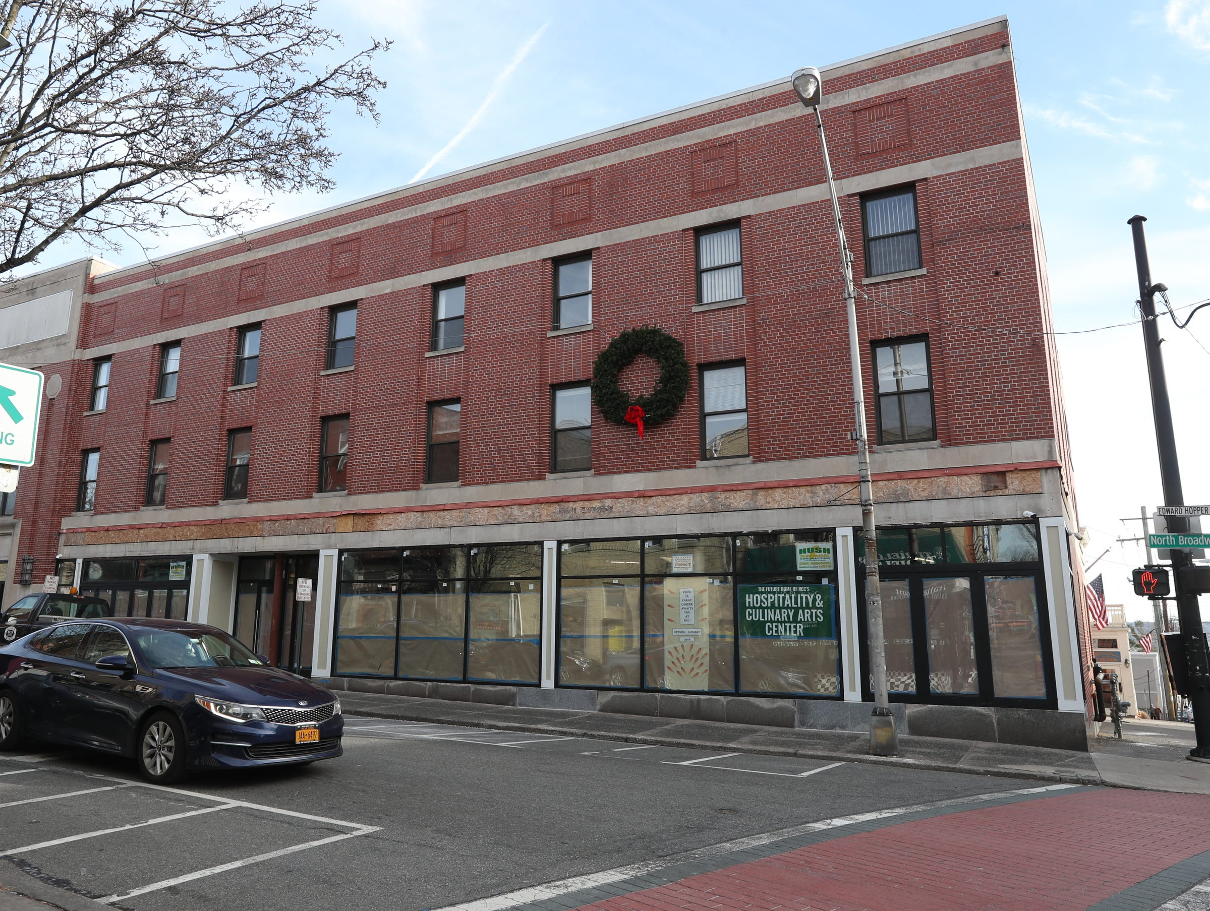 Rockland Community College's Hospitality and Culinary Arts Center in Nyack, perepares to open for students and the community. Thursday, January 17, 2019.