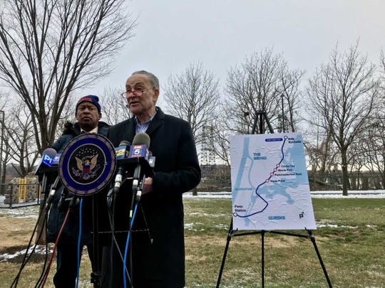 """US Sen. Charles Schumer wants Amtrak """"to be flexibile"""" during negotiations with the MTA to speed up the Penn Station Access Project."""
