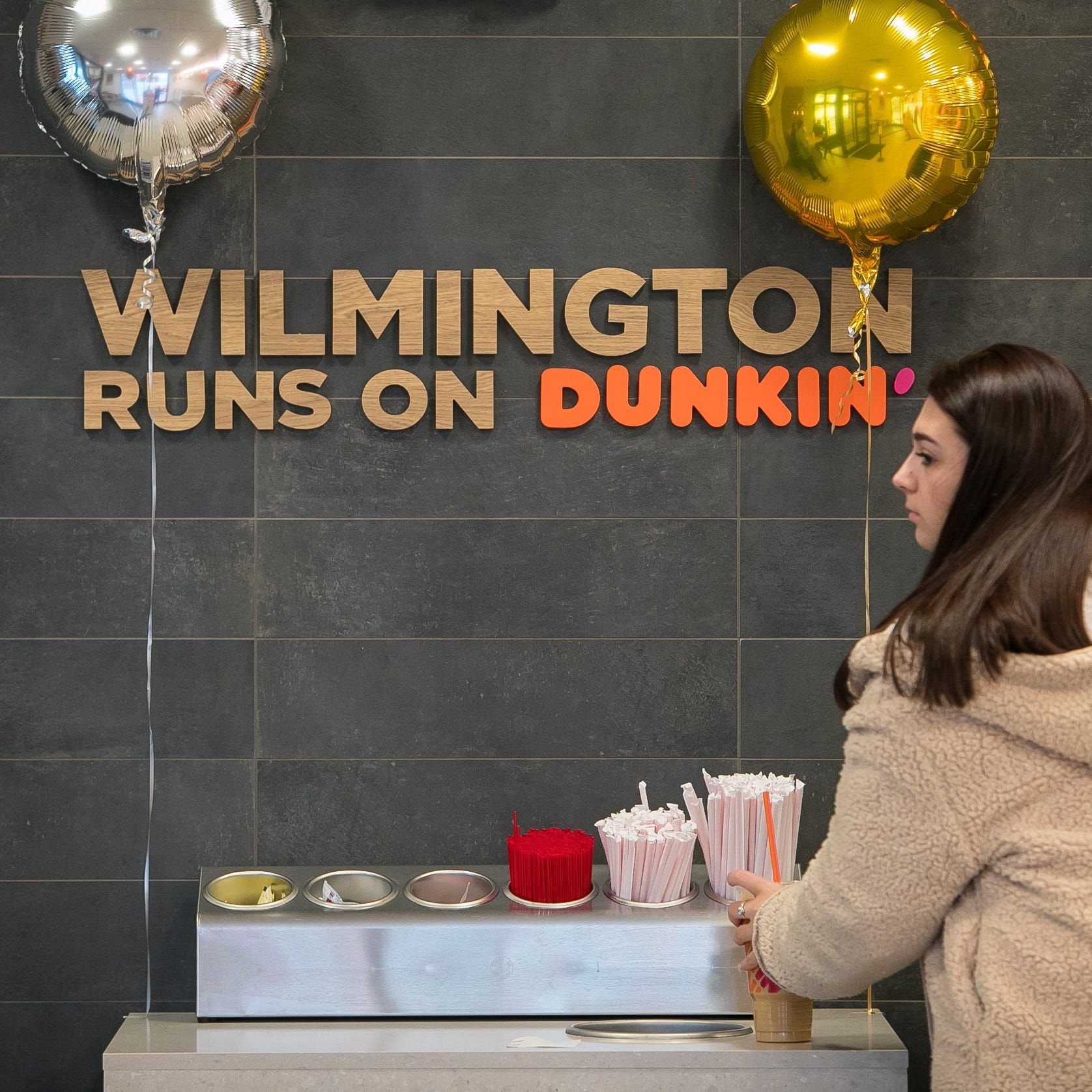 Dunkin' store opens in north Wilmington with new name, modern design