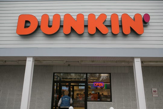 File photo of a Dunkin' in Delaware.