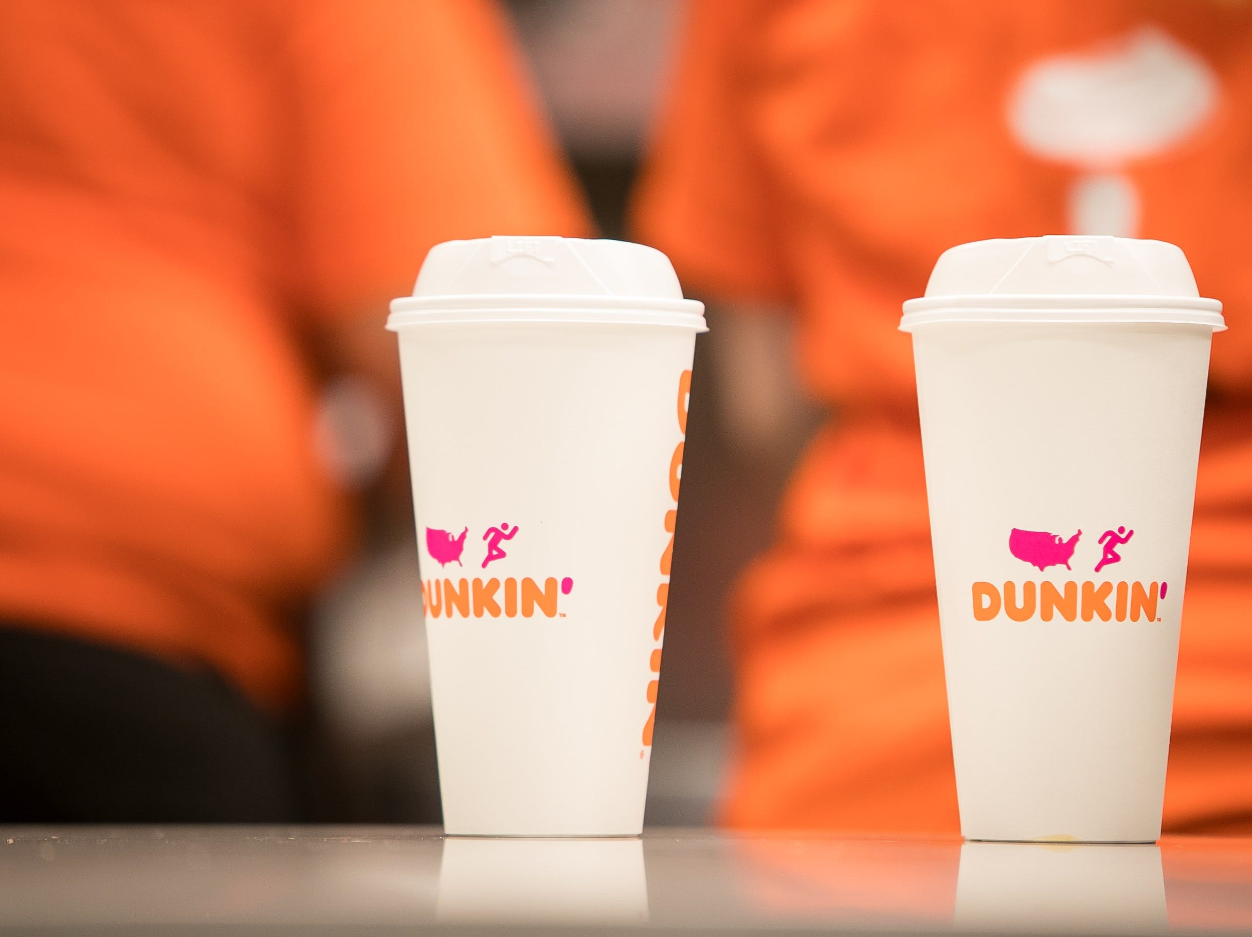 The new Dunkin' chain is now more energy efficient to include a new cup design.