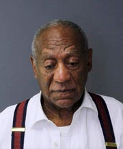Bill Cosby, following his sentencing last September in Pennsylvania