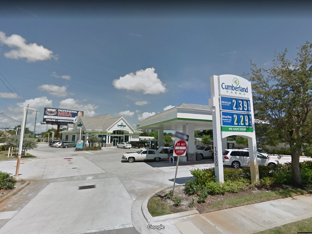 Florida: Cumberland Farms.