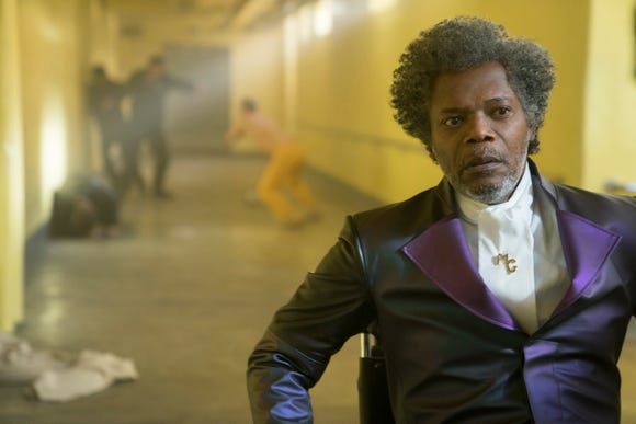 Mr. Glass (Samuel L. Jackson) has his dream of revealing super-people to the world realized.