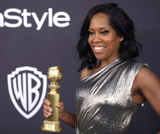 Regina King in Beverly Hills, California, after the Golden Globes Awards Show. Jan. 6, 2019,