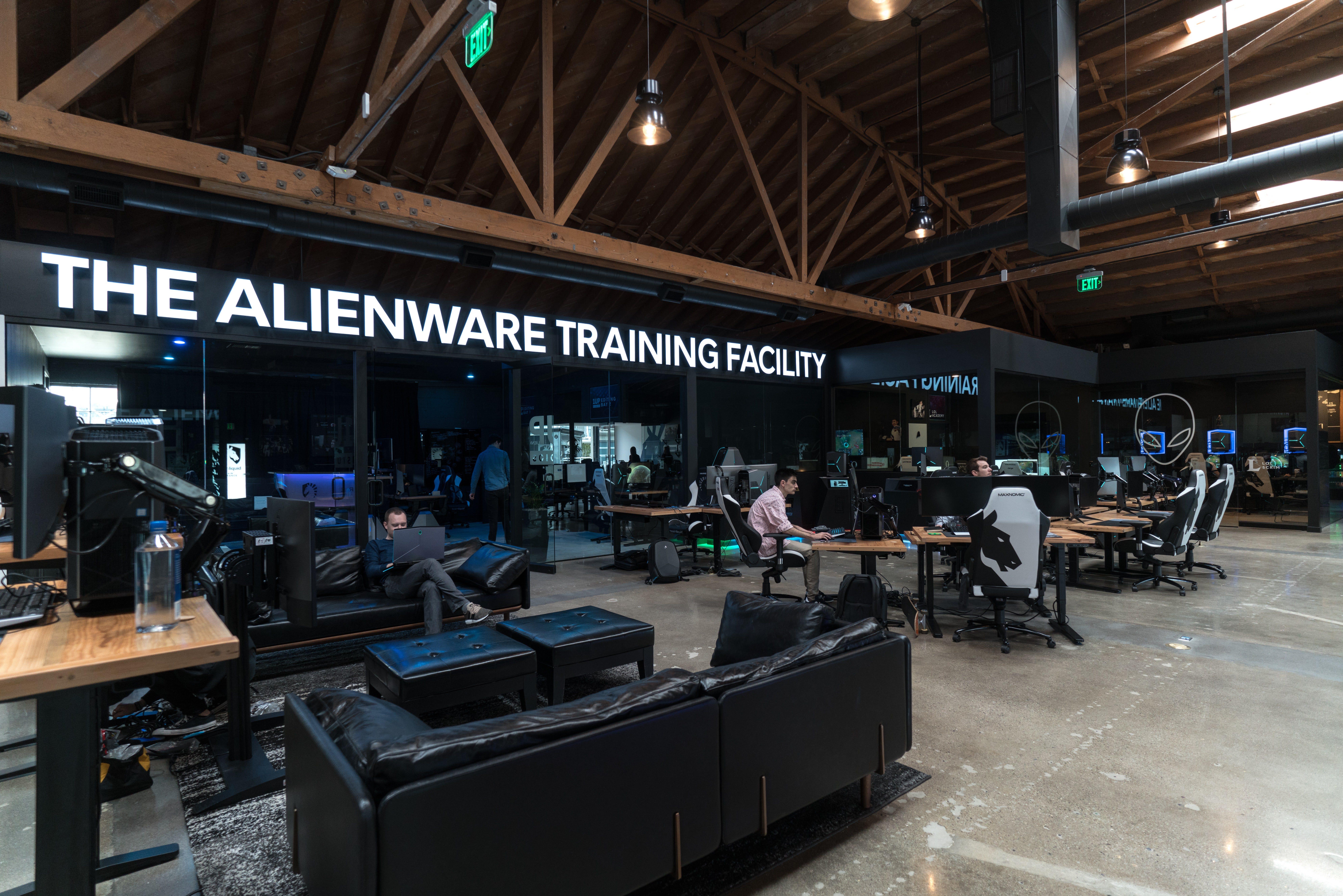 Team Liquid's Alienware Training Facility in California.