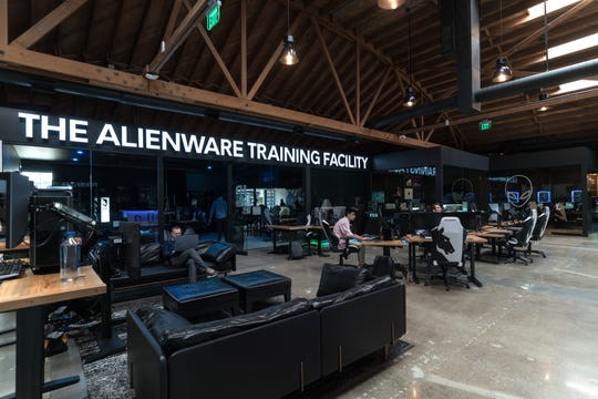 Team Liquid's Alienware Training Facility in California.