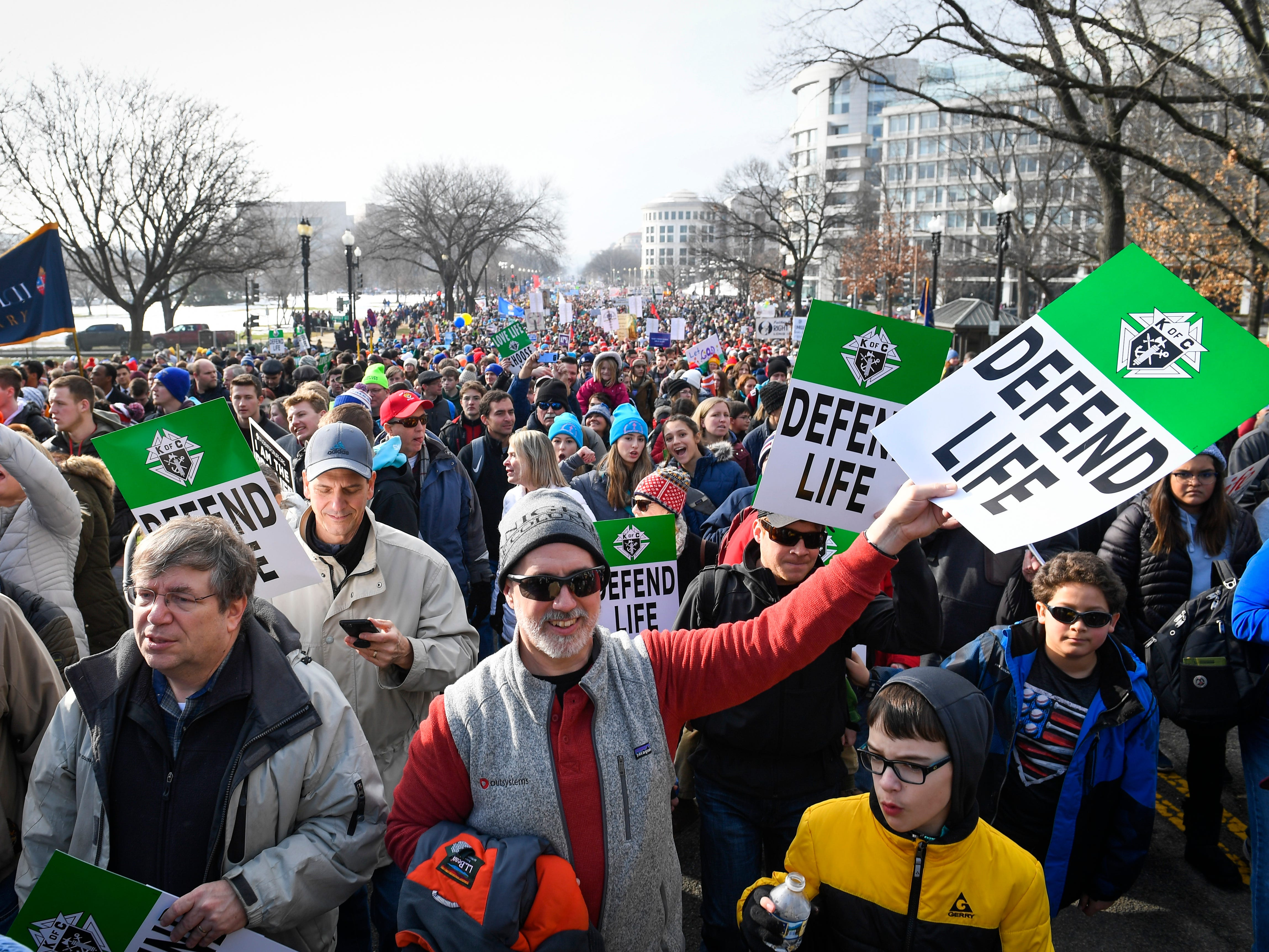 Rep. Daniel Lipinski, D-Ill., who is one of the only anti-abortion Democrats in the House, also addressed the morning rally. Ben Shapiro, a popular conservative commentator, was the featured speaker.