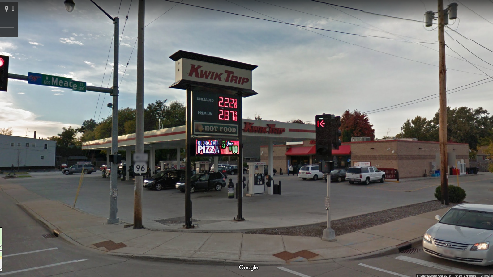 Wisconsin: Kwik Trip.