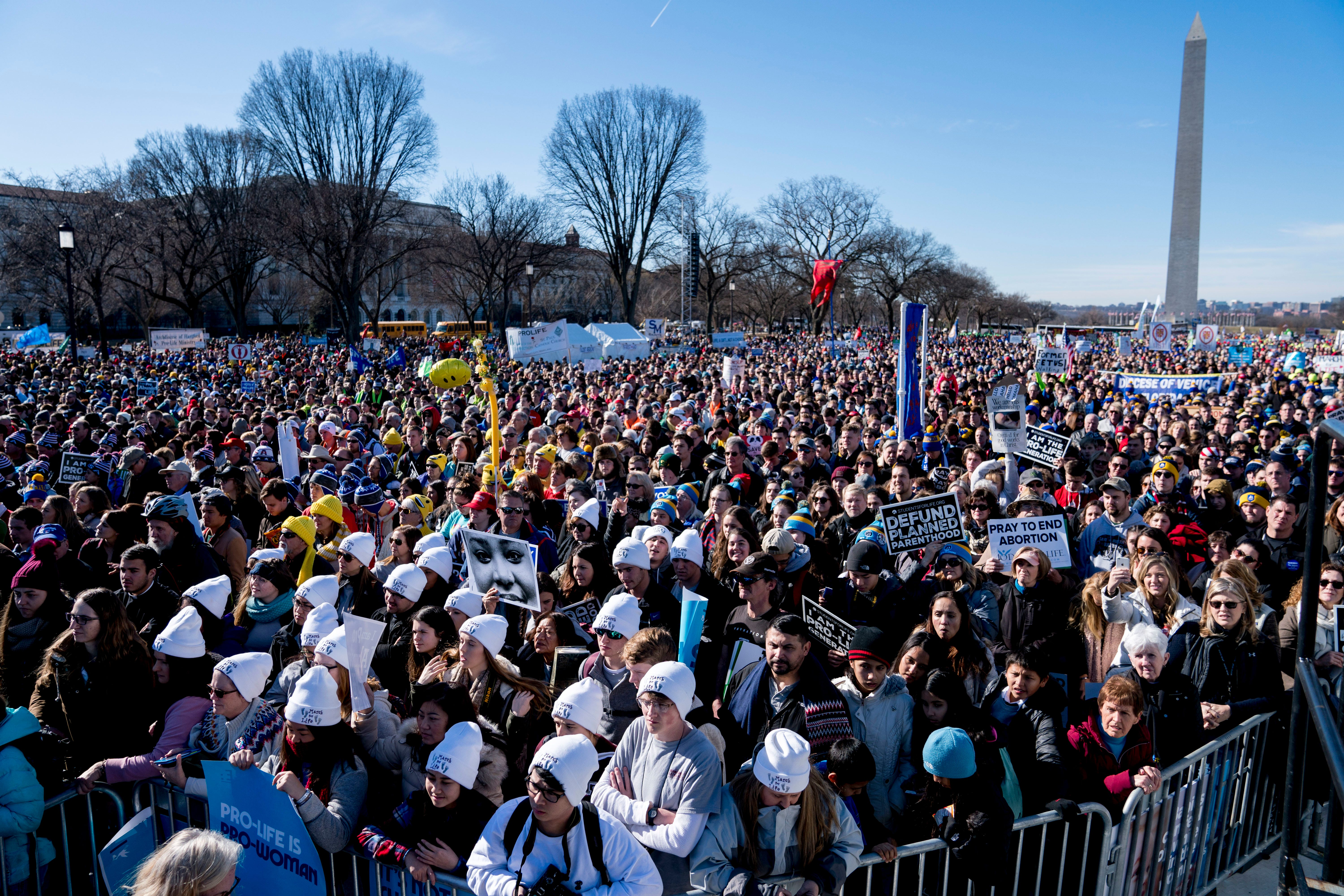 March for Life 2019: Vice President Pence makes surprise visit at DC rally
