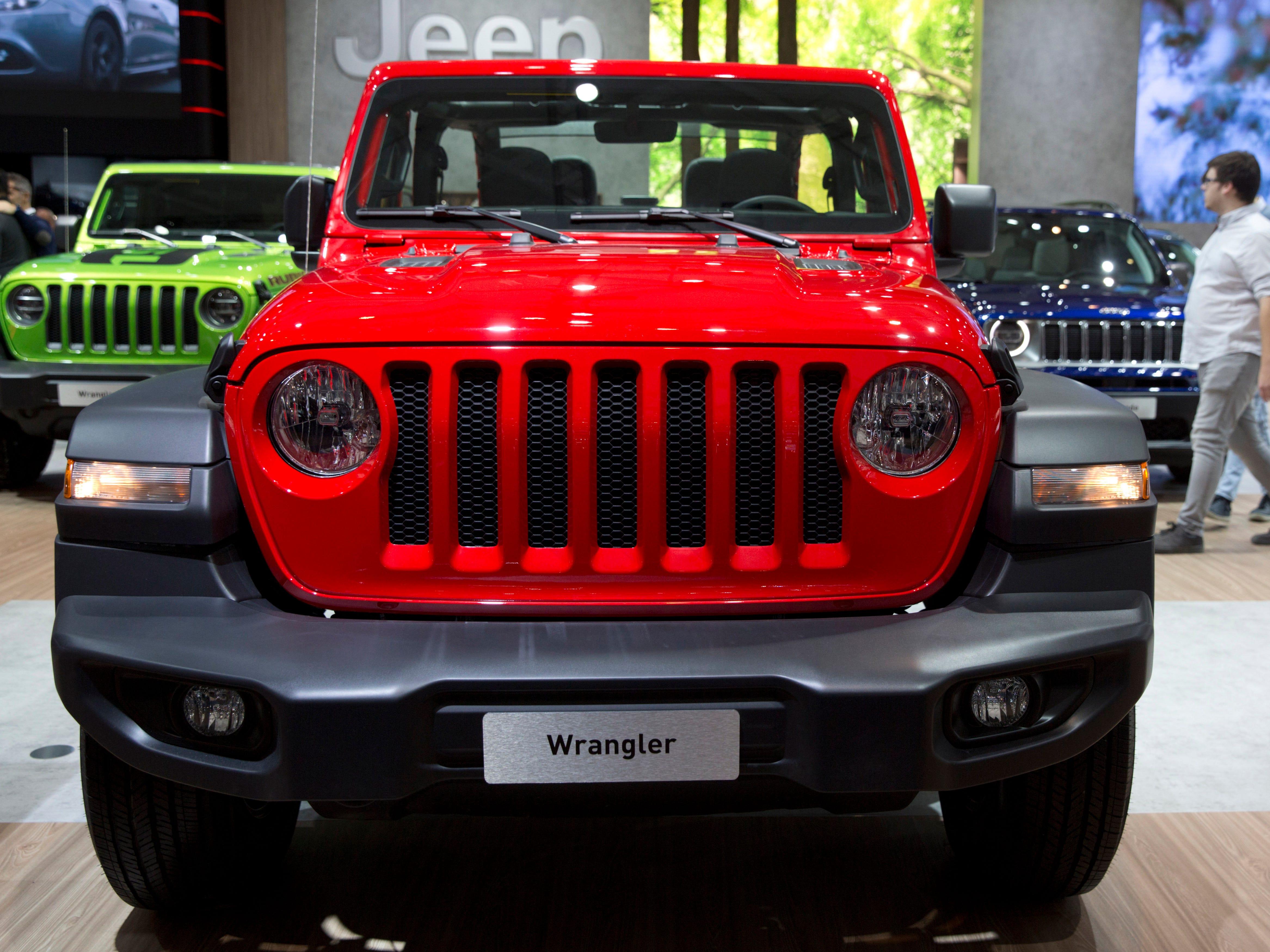 The new Jeep Wrangler.