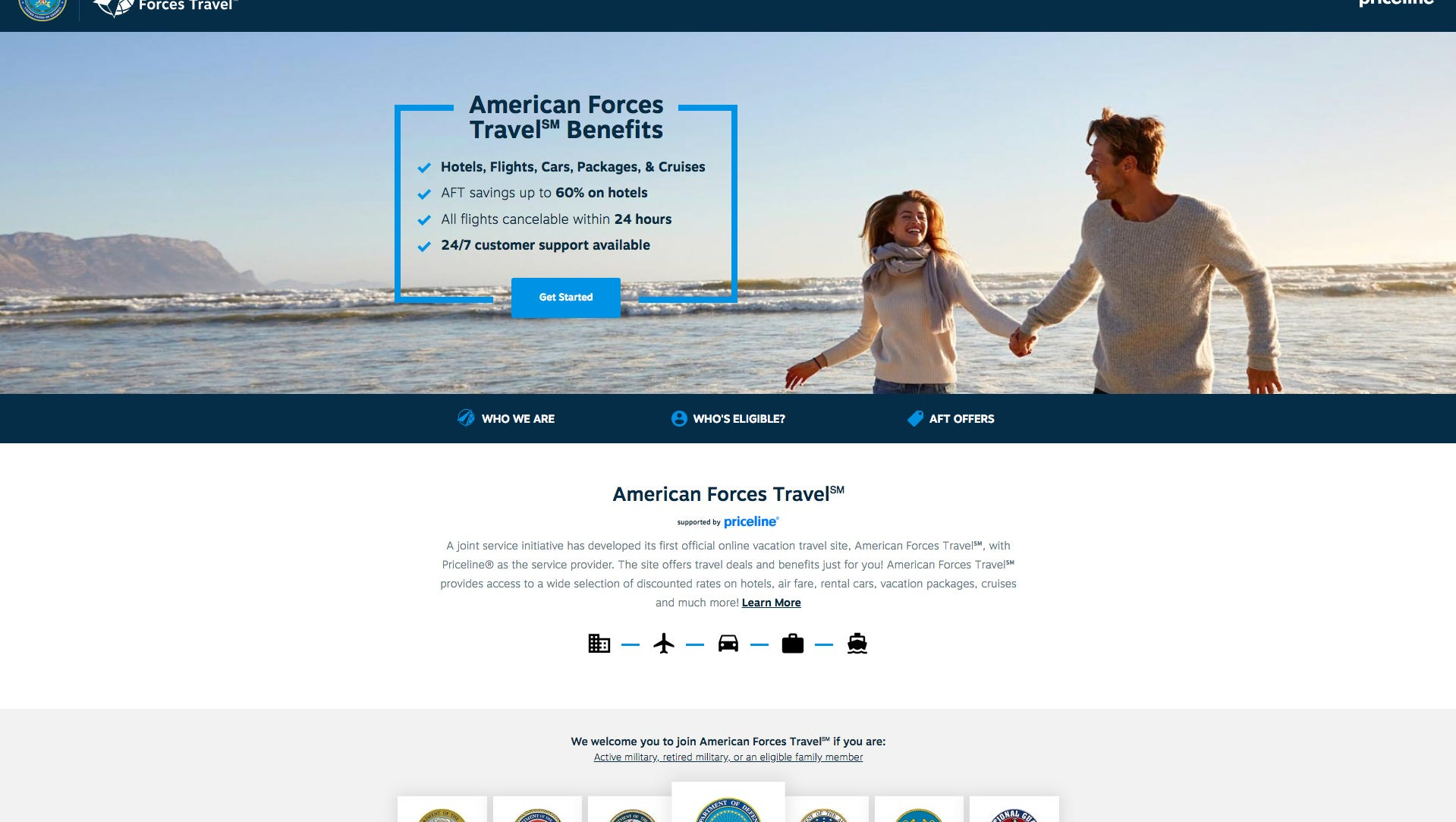 Military Vacation Deals >> U S Defense Department Priceline Create Travel Site For
