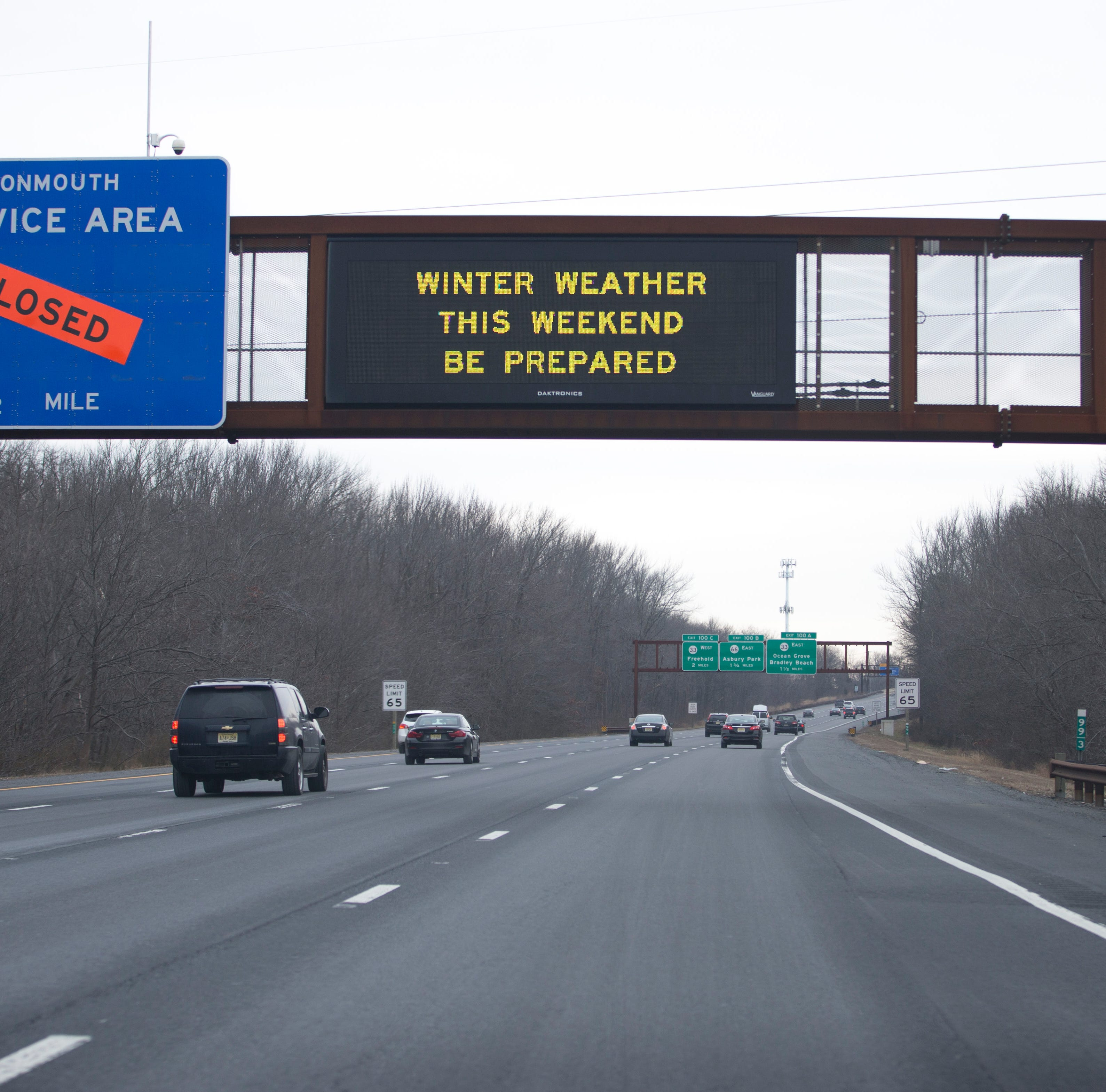 NJ weather: Mostly rain at the Shore, wintry mix in North Jersey