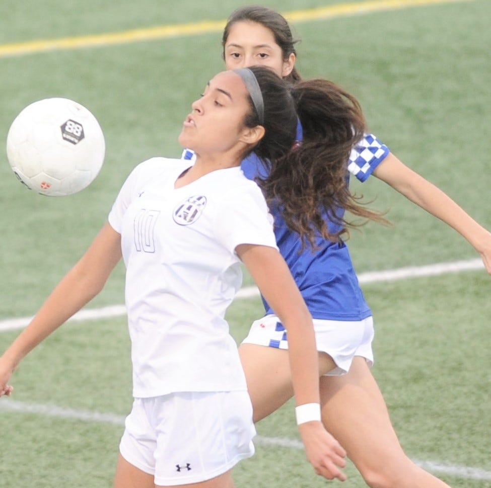 Abilene High girls soccer outlasts Cooper in Crosstown Showdown