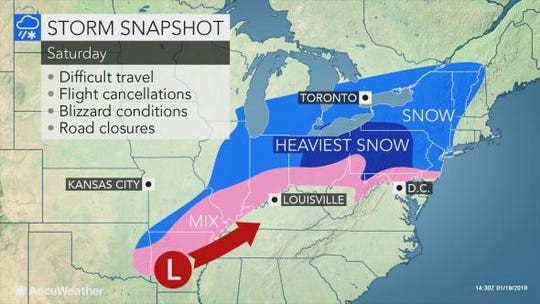 Saturday snow to hit Southern Tier