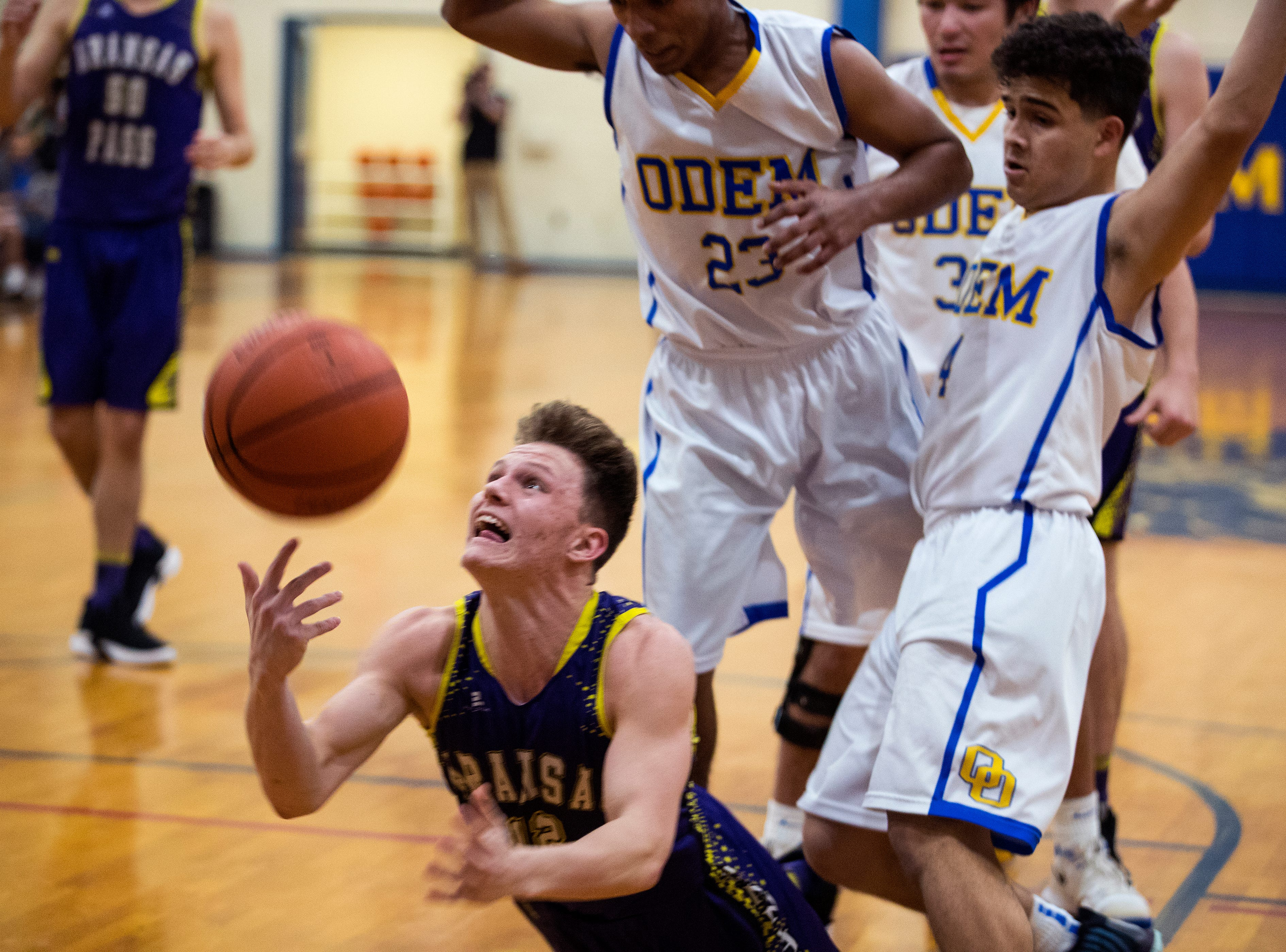 Odem beat Aransas Pass in a home basketball game 48-30 on Friday, January 18, 2019.