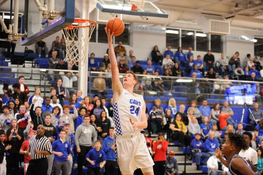 Chillicothe High School basketball defeated the Washington Blue Lions 56-26 at home on Friday as the Cavs took sole possession of first place in the Frontier Athletic Conference.