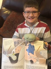 An Ohio boy diagnosed with leukemia became a character in a children's book with the help of a Cincinnati-based nonprofit.