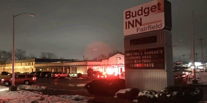 An early morning hotel fire Friday displaced 60 to 100 guests, according to the American Red Cross.